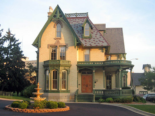Lake-Peterson House, ca. 1873, 1313 East State Street, Rockford, IL, National Register