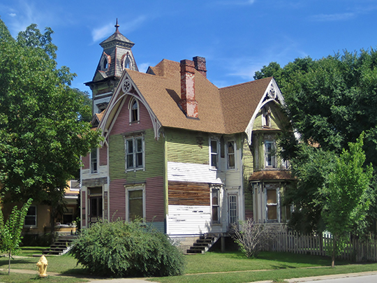 Home on South 3rd Street, ca. 1890, Haight Village Historic District, Rockford, IL, National Register