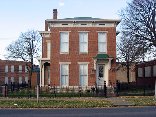 McEwen-Samuels-Marr House, ca. 1864,  24 E. Third Street in Columbus, Bartholomew County, IN