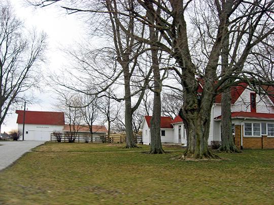 Maplelawn Farmstead, ca. 1860, 9575 Whitestown Road, Zionsville, IN, National Register