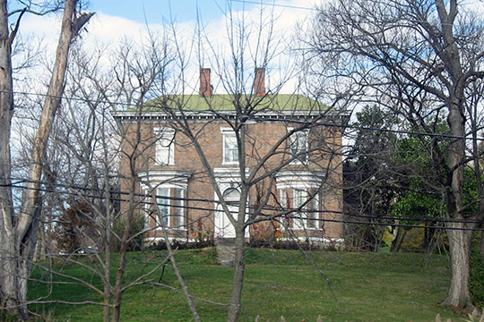 Daniel S. Major House, ca. 1857, 761 W. Eads Parkway (U.S. Route 50), Lawrenceburg, IN, National Register