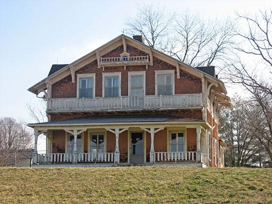 Dr. Alois Wollenmann House, ca. 1903, 1150 Main Street, Ferdinand, IN, National Register