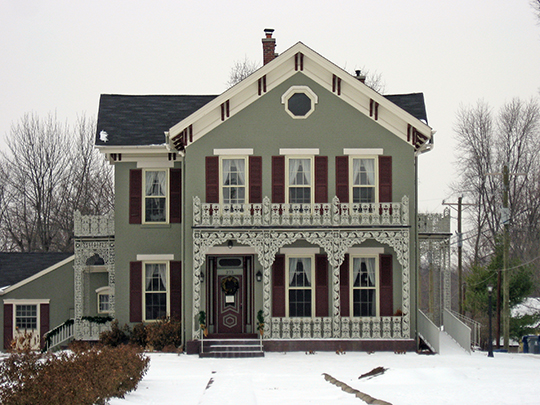 Robert L. Wilson House, ca. 1868, 273 South 8th Street, Noblesville, IN, National Register