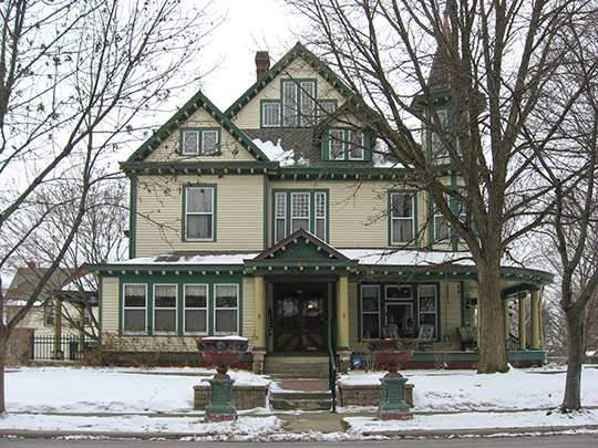 Dr. Samuel Harris House, ca. 1898, 399 North 10th Street, Noblesville, IN, National Register