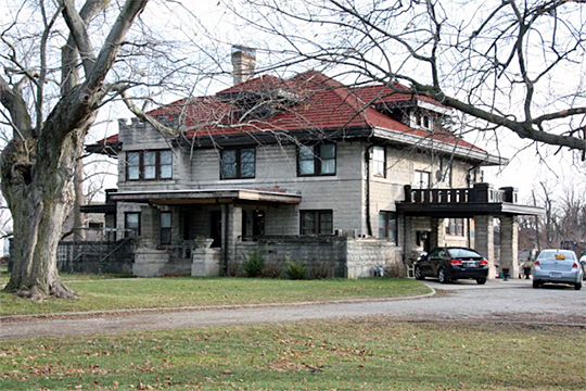 The Browne-Rafert House, ca. 1914, 534 North Merrill Street, Fortville, IN, National Register
