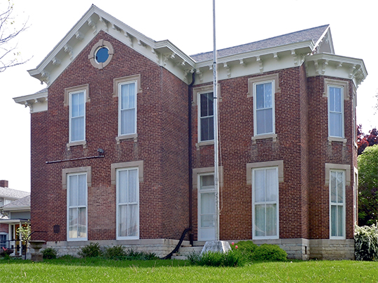 General William Grouse House, ca. 1870, 614 South 14th Street, New Castle, IN.