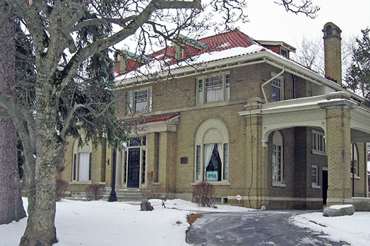 Elwood Haynes House, ca. 1916, 1915 South Webster Street, Kokomo, IN, National Register