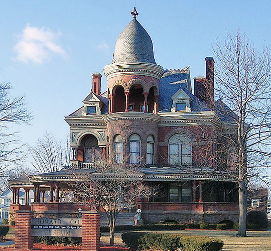 Seiberling Mansion, ca. 1889, 1200 West Sycamore Street, Kokomo, IN, National Register