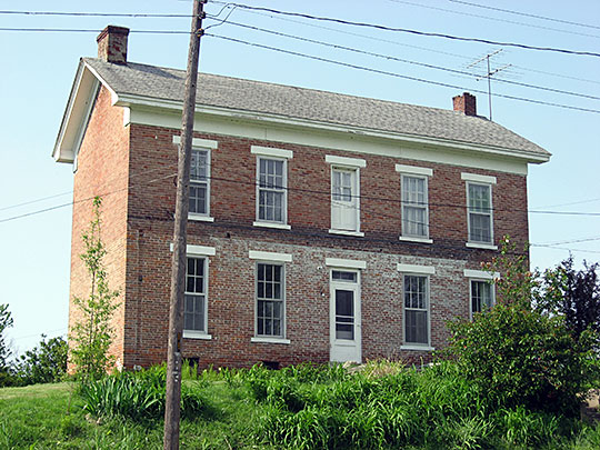 Alfred Simonson House, ca. 1873, 207 East Shipping Street, Edwardsport, IN, National Register