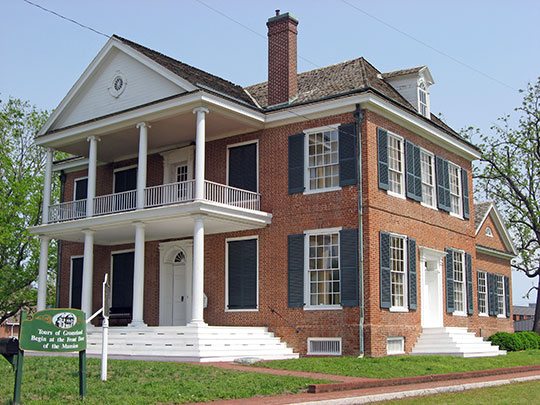 Grouseland (William Henry Harrison House), ca. 1804, Scott Street, Vincennes, IN, National Historic Landmark