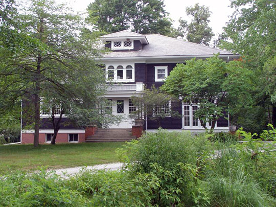 Barker House, ca. 1903, 444 Barker Street, Michigan City, IN, National Register