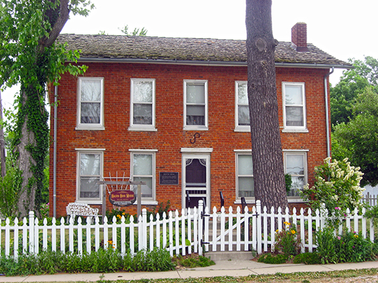 Melvin A. Halstead House, ca. 1850, 201 East Main Street, Lowell, IN, National Regisgter