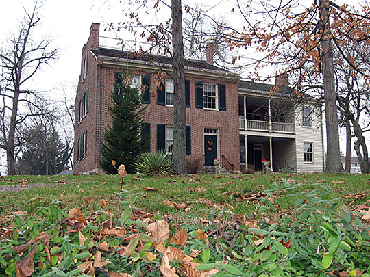 Andrew Wylie House, ca. 1835, 307 East 2nd Street, Bloomington, IN, National Register