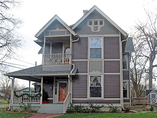 Neely House, ca. 1895, 739 East Washington Street, Martinsville, IN, National Register