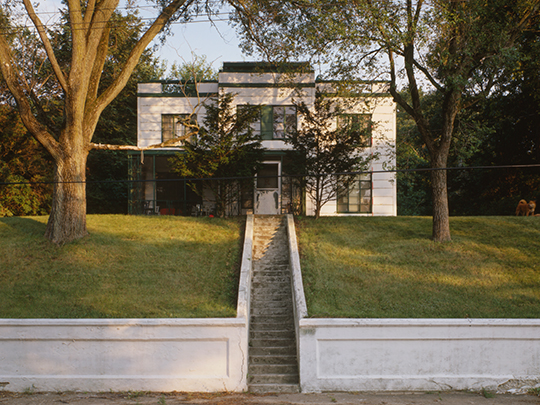 Armco-Ferro-Mayflower House, ca. 1933, 251 Lake Front Drive, Beverly Shores, IN.