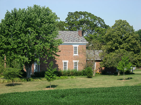 Cooper-Alley House, ca. 1863, East River Road, Noble Township, Shelby County,  IN, National Register