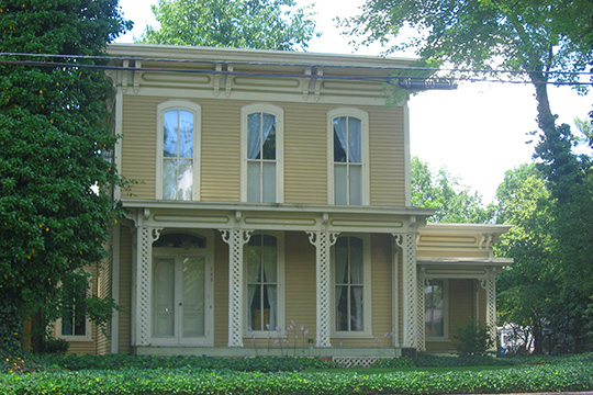 Eller-Hosford House, ca. 1875, 722 Lincolnway East (Lincoln Highway), Mishakawa, IN, National Register