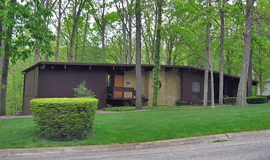 Curtis-Grace House, ca. 1958, 2175 Tecumseh Park Lane, West Lafayette, IN, National Register