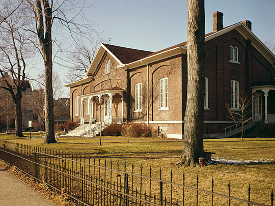 Hicksite Friends Meetinghouse, 1150 North A Street, Richmond, Wayne, IN