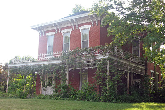 James Culbertson Reynolds House, ca. 1873, 417 North Main Street, Monticello, IN, National Register