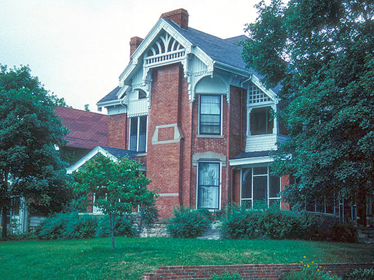 Frank Howard House, ca. 1885, 305 North Terrace Street, Atchison, KS, National Register