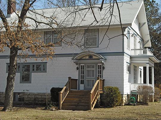 Dream Haven (William Quayle House), ca. 1890, 210 North 6th Street, Baldwin, Kansas, National Register