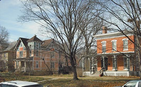 Home in the Pinckney I Historic District, Lawrence, KS, National Register