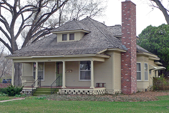 Clifford R. Hope House, ca. 1908, 1112 Gillespie Place, Garden City, KS, National Register