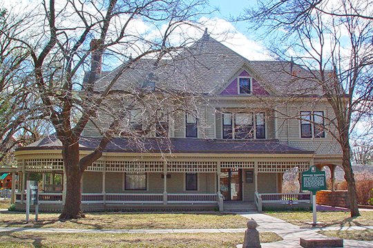 Warkentin House, ca. 1886, 211 East 1st Street, Newton, KS, National Register