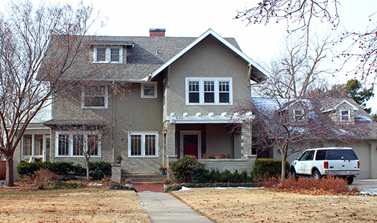 Roberts House, ca. 1909, 235 North Roosevelt Street, Wichita, KS, national Register