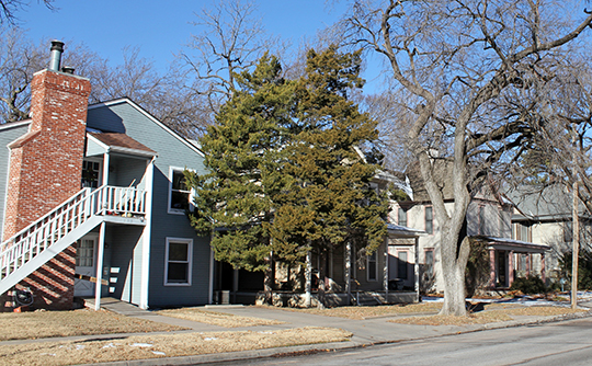 Homes in the Bitting Historic District, Wichita, KS, National Register