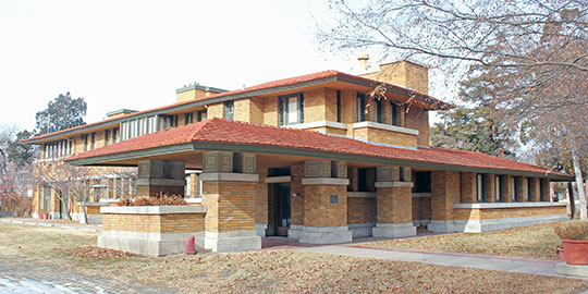 Henry J. Allen House, ca. 1917, 255 North Roosevelt Street, Wichita, KS, National Register