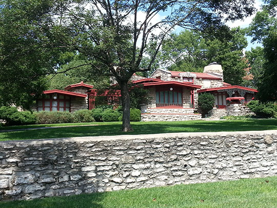 Jesse A. Hoel Residence, ca, 1915, 2108 Washington Boulevard, Kansas City, KS, National Register