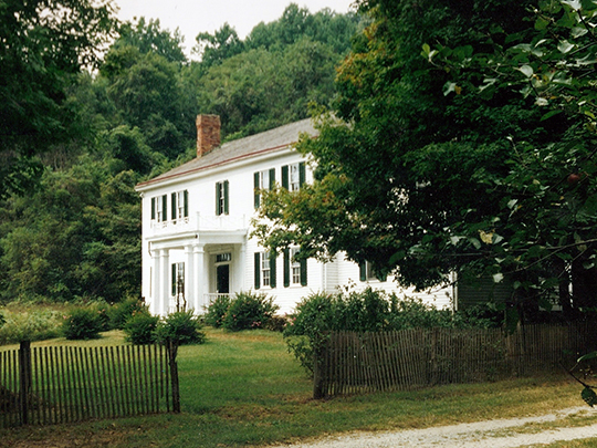 Dinsmore_Homestead, ca. 1841, Route 18, Burlington, KY, National Register