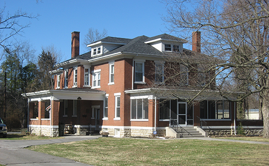 E. H. Higgins House, ca. 1920, 1530 East 7th Street, Hopkinsville, KY, National Register