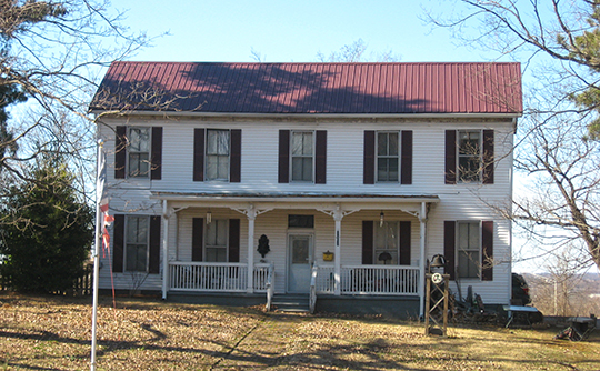 E. W. Walker House, ca. 1887, 1414 East 7th Street, Hopkinsville, KY, National Register