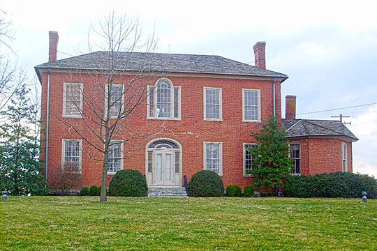 Governor James A. Clark Mansion, ca. 1814, 28 Beckner Street, Winchester, KY, National Register