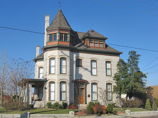 La Vega Clements House, ca. 1894, 1500 North Highland Avenue, Owensboro, KY, National Register