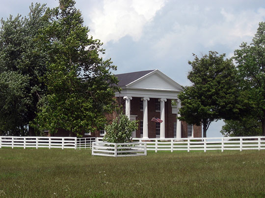George and Betty Bryan House, ca. 1838, west of Nicholasville, KY, National Register