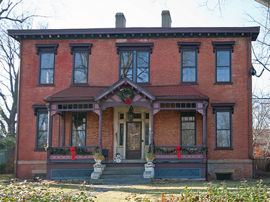 Robert Patton House, ca. mid-1850s, 1533 Garrand Street, Covington, KY, National Register