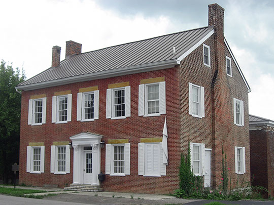 Mercer County Jailers Residence, ca. 1827, 320 South Chiles Street, Harrodsburg, KY, National Register