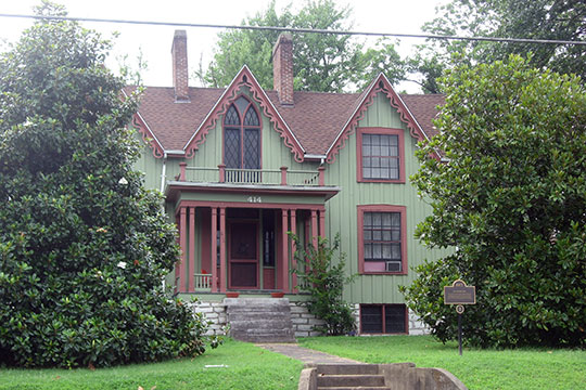 Daniel Curry House, ca. 1857, 414 North Main Street, Harrodsburg, KY, National Register