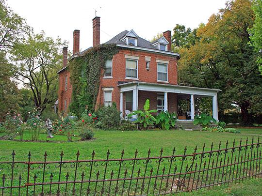John S. Kelley House, ca. 1910, 306 South 5th Street, Bardstown, KY, National Register