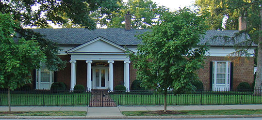 Shropshire House, ca. 1814, 355 East Main Street, Georgetown, KY, National Register