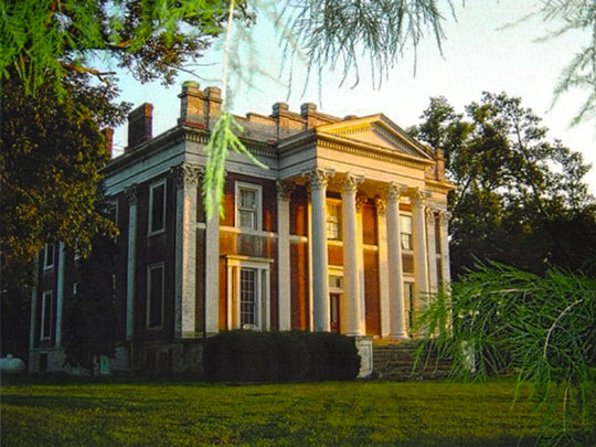 Ward Hall (Junius Richard Ward Mansion), ca. 1853, Georgetown, KY, National Register