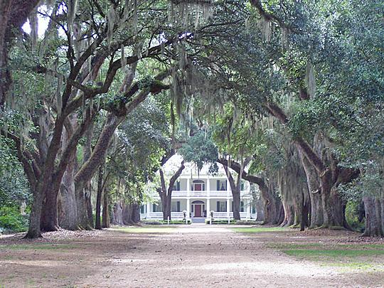 Rosedown Plantation, ca. 1834, 12501 Highway 10, St. Francisville, LA
