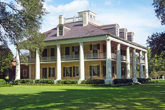 The Houmas Plantation House (Burnside Plantation, date unknown) Highways 22 and 44, Burnside, LA, National Register