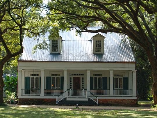 Palo Alto Plantation, ca. 1850, Highway 1, Donaldsonville, LA, National Register