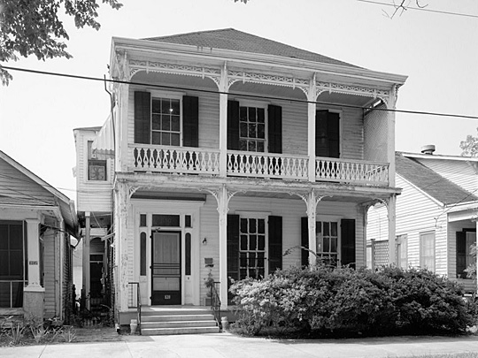 Blum House, ca. 1870, 630 Louisiana Avenue, Baton Rouge, LA, National Register