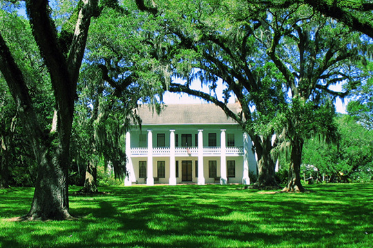 Bayside Plantation Home, ca. 1850, 9805 Old Jeanerette Road, Jeanerette, LA, National Register
